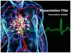Cardiac PowerPoint Templates, Cardiac PowerPoint Backgrounds