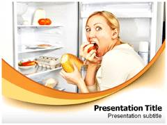 Anorexia PowerPoint Backgrounds