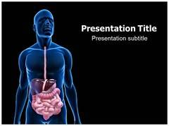 Digestive Problems PowerPoint Background