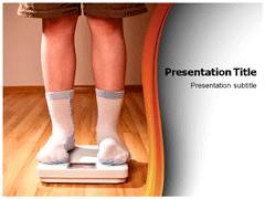 Child Obesity Template PowerPoint