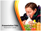 Steam Inhalation PowerPoint Slides
