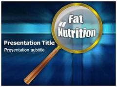 Fat Nutrition PowerPoint Background