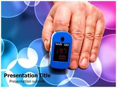 Pulse Oximeter Template PowerPoint