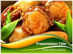 Fat Food PowerPoint Background