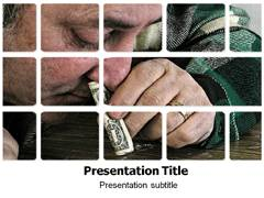 Drug Addict PowerPoint Slides