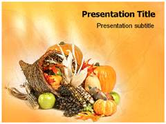 Nutrition Tips PowerPoint Theme
