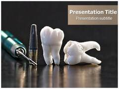 Dental Accessories Template PowerPoint