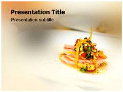 Restaurant Template PowerPoint