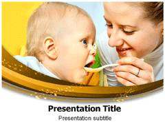 Baby Eat PowerPoint Slides