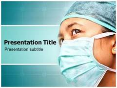 Surgical Mask PowerPoint Background