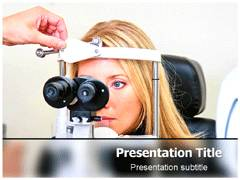 Eye Test PowerPoint Slides
