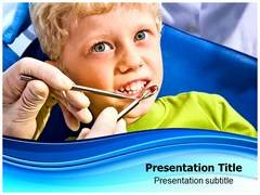 Dental Health PowerPoint Background