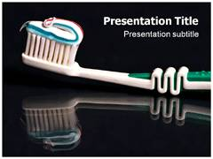 Toothpaste PowerPoint Theme