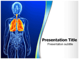 Respiratory System Template PowerPoint