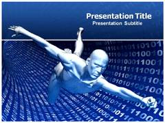 Virtual Man PowerPoint Slides