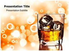 Alcohol Template PowerPoint