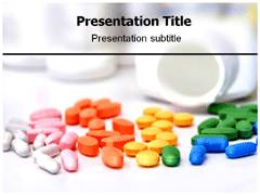 Colorful Medicine Template PowerPoint