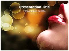 Cosmetic Template PowerPoint