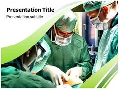 Surgical Room Template PowerPoint