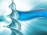 DNA Helix PowerPoint Slide