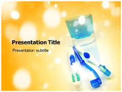 Toothbrush Brands PowerPoint Design