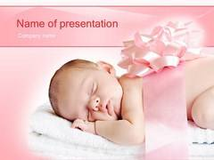 Sleeping Innocence PowerPoint Backgrounds