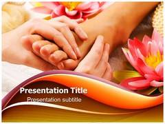 Massage Benefits PowerPoint Background