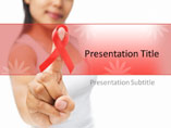 Cancer And HIV  PowerPoint Background