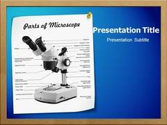 Optical Microscope PowerPoint Slides