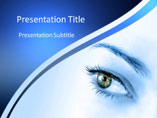 Eye Causes PowerPoint Background