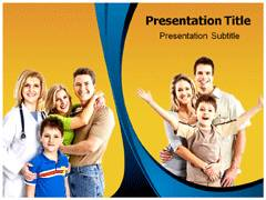 Family Doctor Template PowerPoint