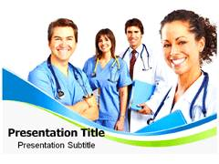Senior Doctors PowerPoint Slides