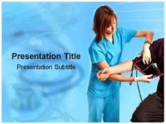 Neonatal Nurse PowerPoint Background