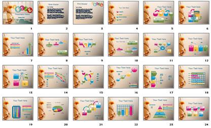 Pregnancy bundle powerpoint template template powerpoint all slides preview complete set toneelgroepblik Gallery