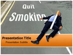 Smoking Addiction PowerPoint Backgrounds
