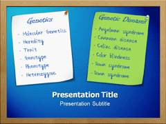 Genes And Disease Slides For PowerPoint