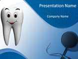 Dental Care Tips PowerPoint Template