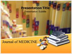 Journal Of Medicine PowerPoint Backgrounds