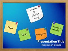 Molecular Biology PowerPoint Background