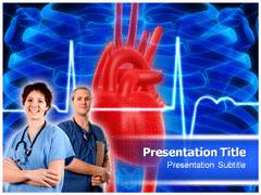 Cardiac Intensive Care PowerPoint Templates,Cardiac Intensive Care PowerPoint  Backgrounds