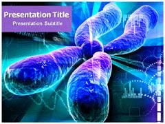 Chromosome Structure PowerPoint Background