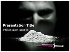 Cocaine PowerPoint Background