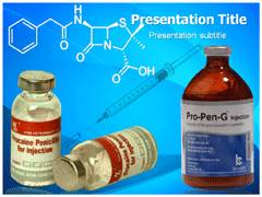 Streptomycin PowerPoint Theme