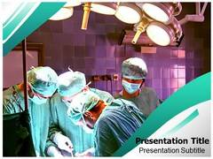 Medical Operation Surgery PowerPoint Background
