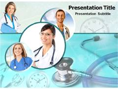 Gastrologist PowerPoint Background
