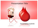 Donate Blood Template PowerPoint