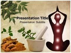 Ayurveda PowerPoint Backgrounds