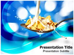 Healthy Milk Template PowerPoint