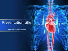 Cardiovascular disease powerpoint ppt templates powerpoint slides heart with lines toneelgroepblik Gallery