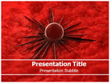 Cancer Cell Diagram PowerPoint Slide